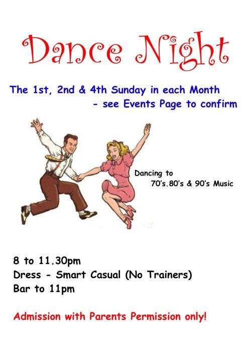 Dance Night Page